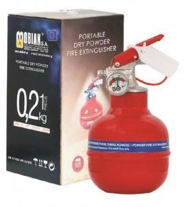 Επιτραπέζιος Πυροσβεστήρας 0,2Kg Ξηράς Σκόνης ABC 40%  - Κατάλληλος για εταιρικό δώρο